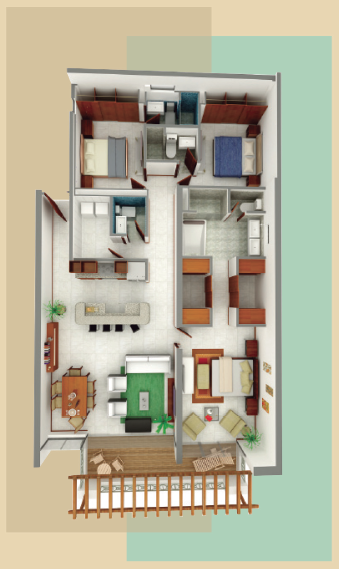 Condominiums In Aruba Residence Amp Floorplans Levent Aruba